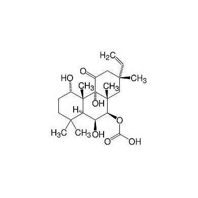 Forskolin (Acetoxy-8,13-epoxy-1α, 6β, 9α-trihydroxylabd-14-en-11-one), research grade, CAS 66575-29-9, SERVA product