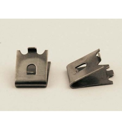 Steel Shelf Clip With Large Tab