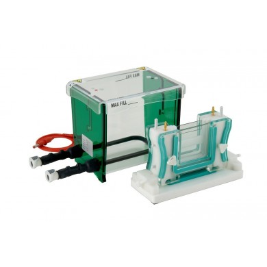 TV100YK (cooled & caster) Vertical mini-Gel System