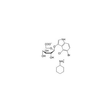5-Bromo-4-chloro-3-indolyl-β-D-glucuronide- cyclohexylammonium salt, CAS [114162-64-0], Serva